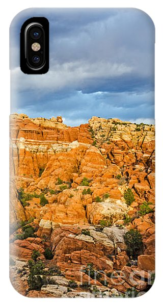Contrasts In Arches National Park IPhone Case