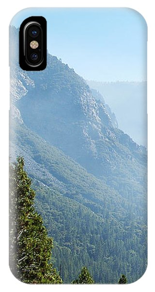 1 Of 4 Controlled Burn Of Yosemite Section IPhone Case