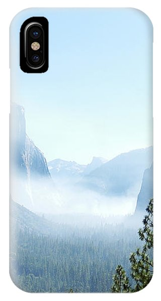 2 Of 4 Controlled Burn Of Yosemite Section IPhone Case