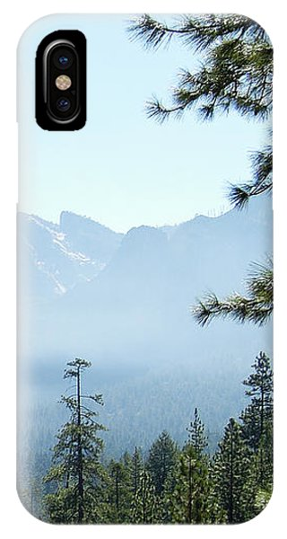 3 Of 4 Controlled Burn Of Yosemite Section IPhone Case