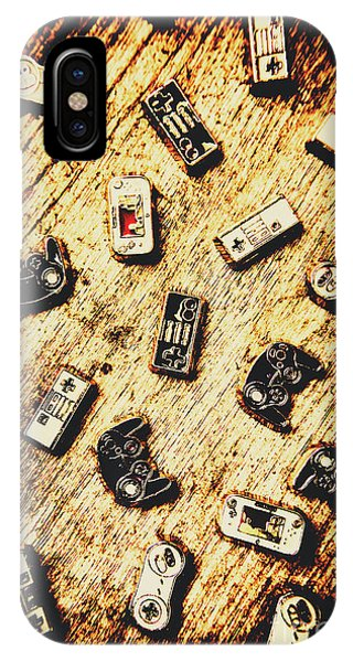 Electronic iPhone Case - Controllers Of Retro Gaming by Jorgo Photography - Wall Art Gallery