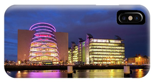 Convention Centre Dublin And Pwc Building In Dublin, Ireland IPhone Case