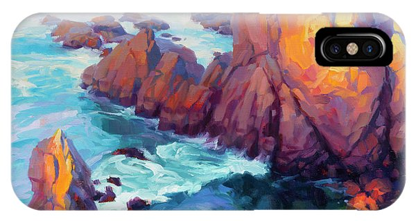 Pacific Ocean iPhone Case - Convergence by Steve Henderson