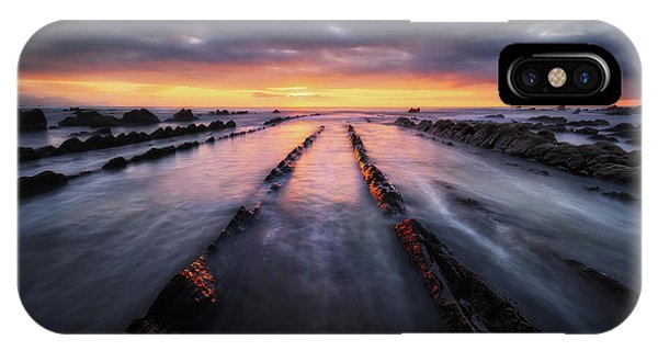 Converging To The Light IPhone Case