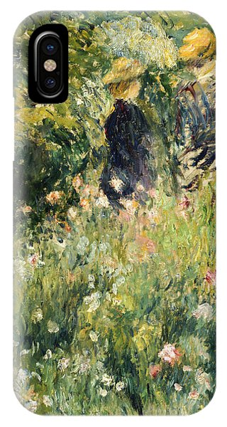 Conversation In A Rose Garden IPhone Case