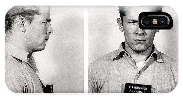 Convict No. 1428 - Whitey Bulger - Alcatraz 1959 IPhone Case