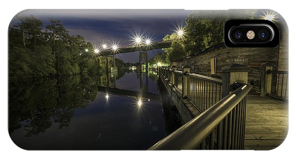 Conway Riverwalk Morning IPhone Case