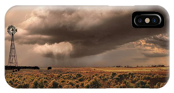Conway Storm Front IPhone Case