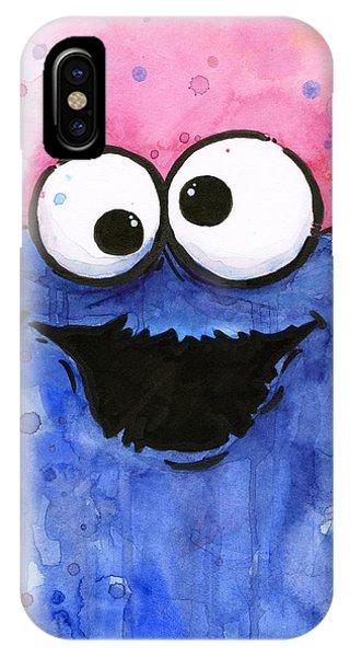 Street iPhone Case - Cookie Monster by Olga Shvartsur