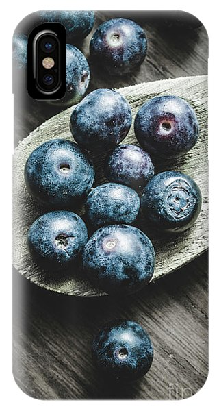 Blue Berry iPhone Case - Cooking With Blueberries by Jorgo Photography - Wall Art Gallery