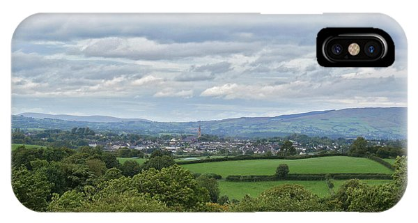 Cookstown Viewed From Tullyhogue Fort IPhone Case