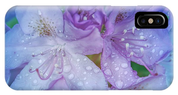 Cool Blue After The Rain IPhone Case