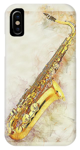 Cool Saxophone IPhone Case