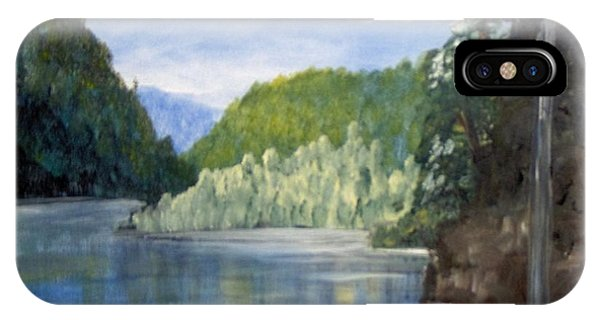 IPhone Case featuring the painting Cool Water by Saundra Johnson