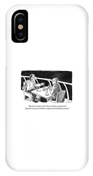 Cooler Than A Million Compromised Facebook Accounts IPhone Case
