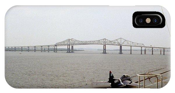 Cooper River Bridges IPhone Case