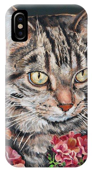 Cooper The Cat IPhone Case