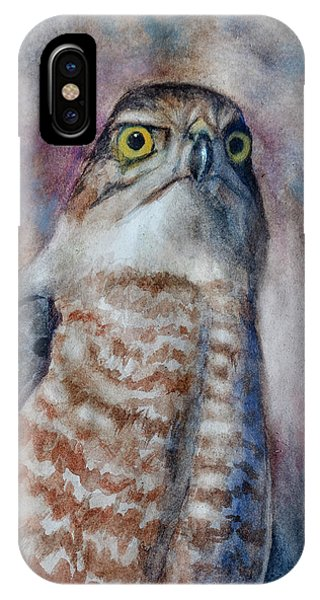 Coopers Hawk Wc IPhone Case