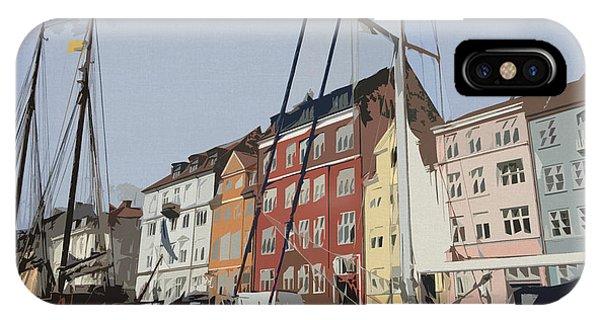 Travel iPhone Case - Copenhagen Memories by Linda Woods