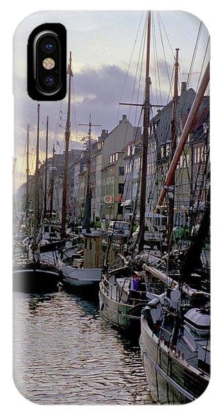 Copenhagen Quay IPhone Case