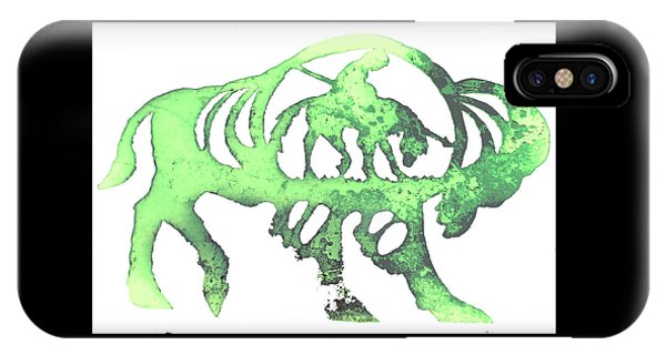 Copper Buffalo IPhone Case