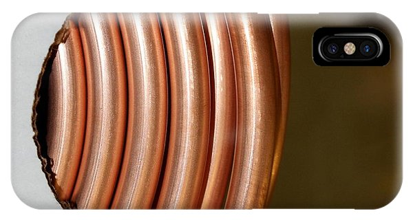 Copper Curves IPhone Case