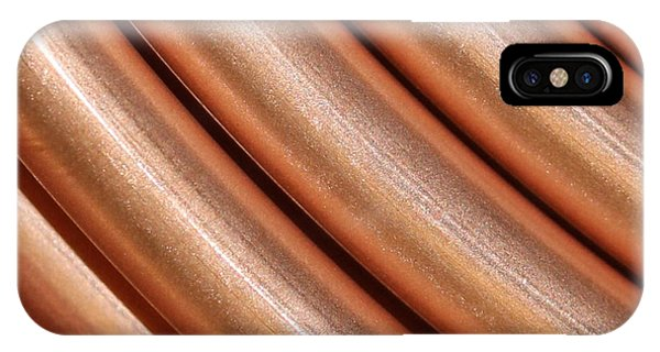 Copper Pipes IPhone Case