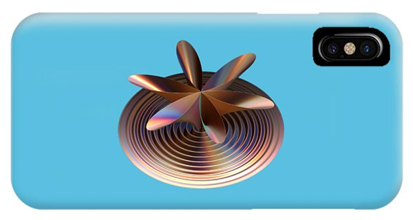 Copper Tones IPhone Case