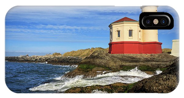 Coquille River Lighthouse At Bandon IPhone Case