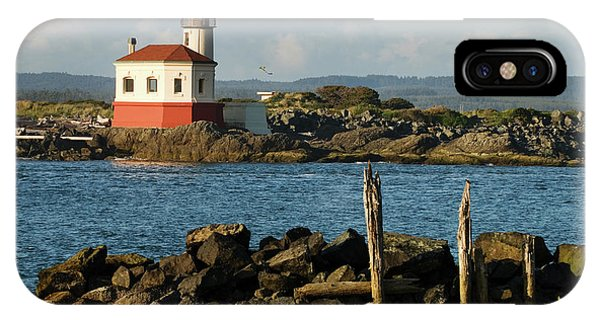 Coquille River Lighthouse Bandon Oregon IPhone Case