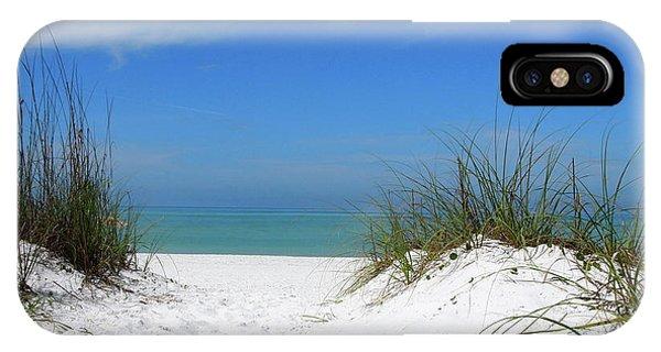 Coquina Dunes IPhone Case