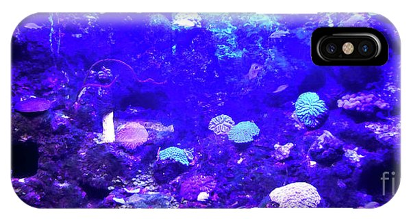 IPhone Case featuring the digital art Coral Art 2 by Francesca Mackenney