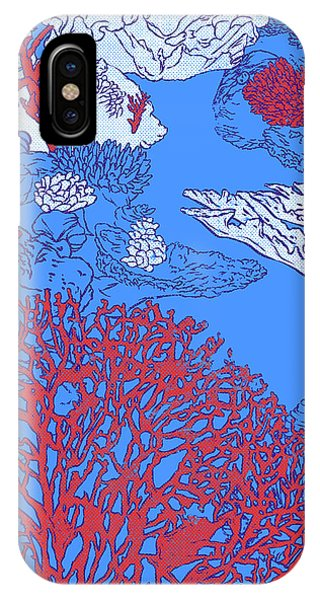 Reef Diving iPhone Case - Coral Reef by Evgenia Chuvardina