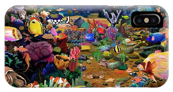Reef iPhone Case - Coral Reef by MGL Meiklejohn Graphics Licensing