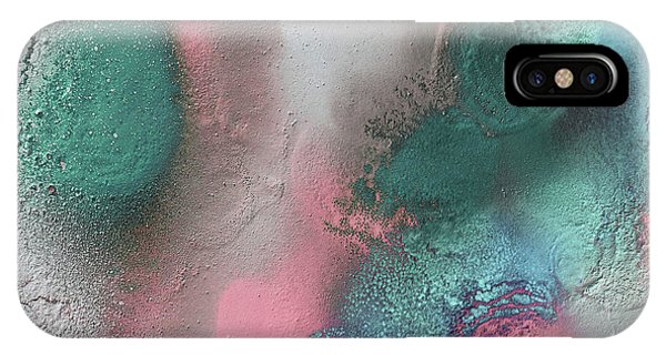 Coral, Turquoise, Teal IPhone Case