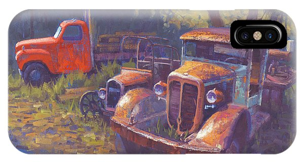 Truck iPhone X Case - Corbitt And Friends by Cody DeLong