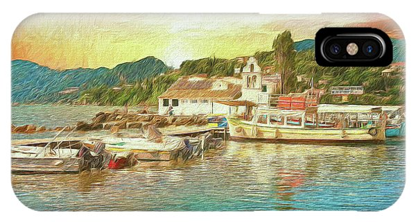 Corfu 30 My Passion Paintography IPhone Case