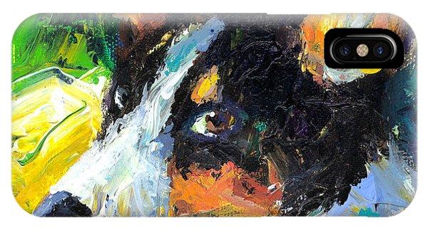 Impressionistic iPhone Case - Corgi Dog Portrait by Svetlana Novikova