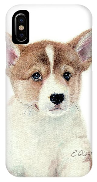 Corgi Pup IPhone Case