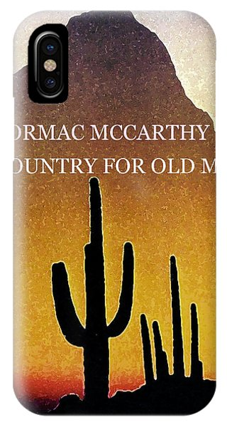 Cormac Mccarthy Poster  IPhone Case