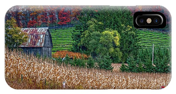 Corn And Ginseng On Poverty Hill IPhone Case