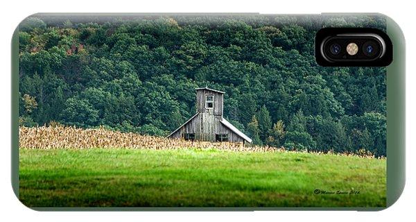 Corn Field Silo IPhone Case