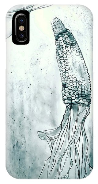 Corn In Space IPhone Case