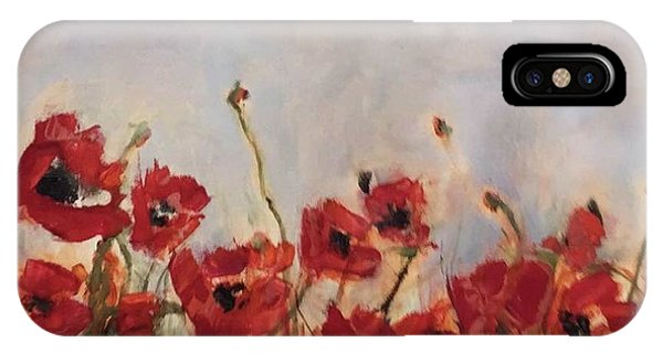 Corn Poppies In Remembrance IPhone Case