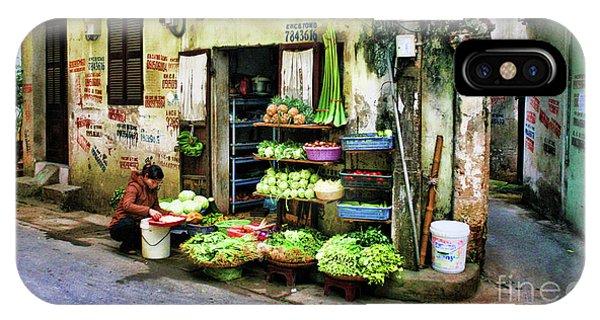 Corner Fresh Veggies Vietnam  IPhone Case