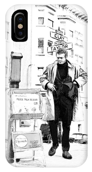 Corner Of Clay And Taylor IPhone Case