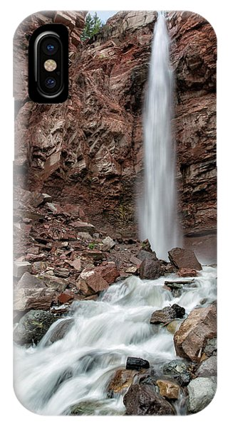 IPhone Case featuring the photograph Cornet Falls In Spring by Denise Bush