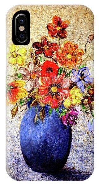 Cornucopia-still Life Painting By V.kelly IPhone Case