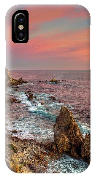 Corona Del Mar Coastline IPhone Case
