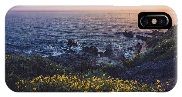 Corona Del Mar Super Bloom IPhone Case
